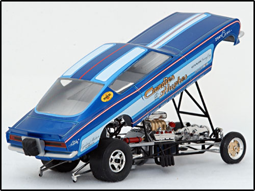 The 1984 Blue Max Mustang was built from a Monogram Billy Meyer's 7-11 ...